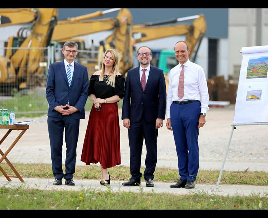 Ministar Schallenberg posjetio je Meridian 16